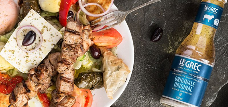 Le Grec refreshes its Facebook look and dives into the world of Instagram